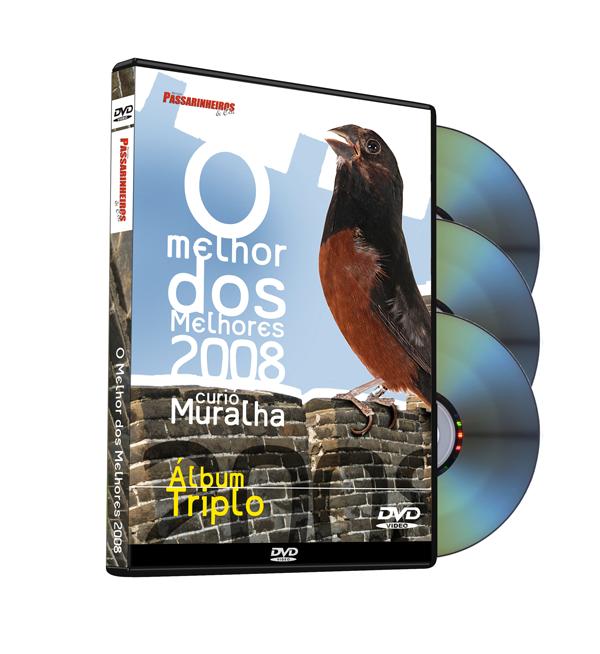 DVD - Curió - O melhor dos melhores 2008