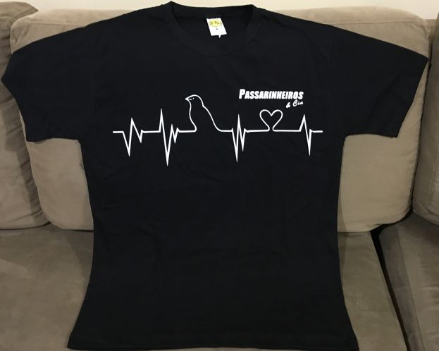 Camiseta Preta   Média